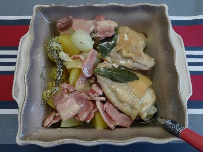 Hauts de cuisse de poulet aux pommes de terre