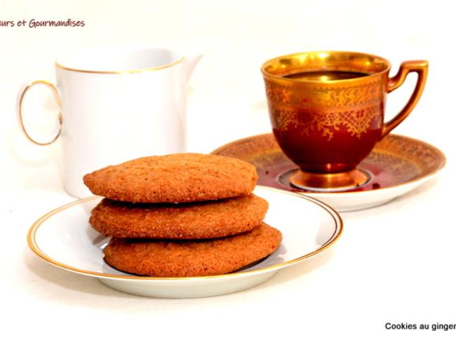 Cookies moelleux et croquants au gingembre