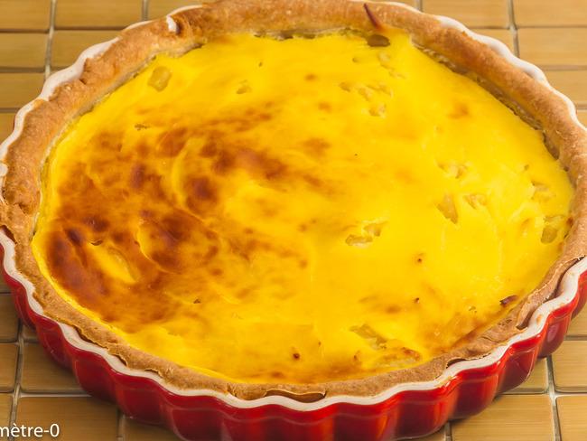 Flan pâtissier à l'ananas