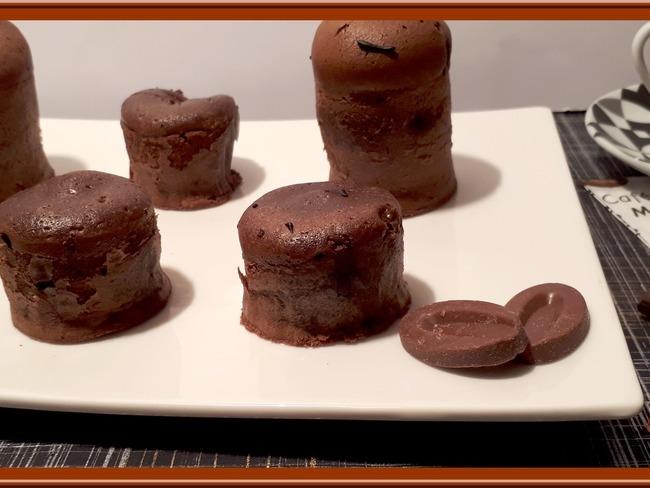 Mi-cuit au chocolat et crème de Gianduja