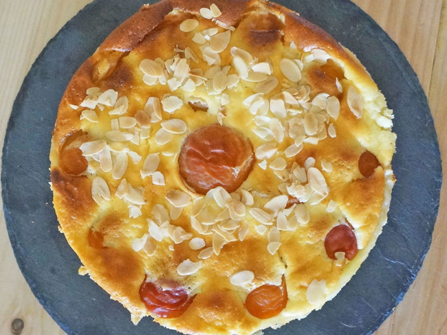 Tarte Abricots et Fromage Blanc