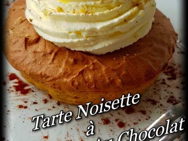 Tarte Noisette à La Mousse Au Chocolat