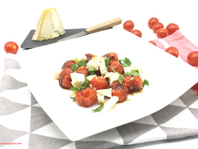 Tomates rôties au fromage