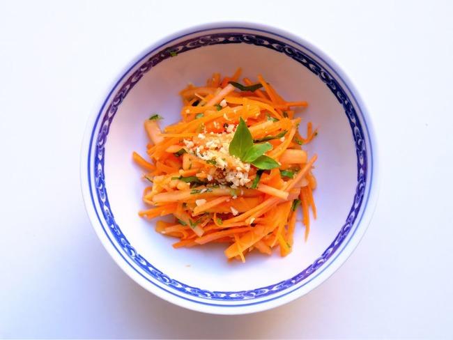 Salade Asiatique Papaye Carotte