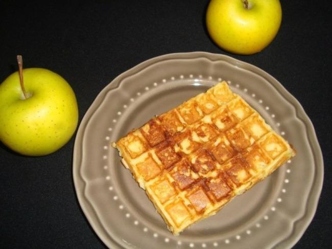 Gaufres aux pommes râpées