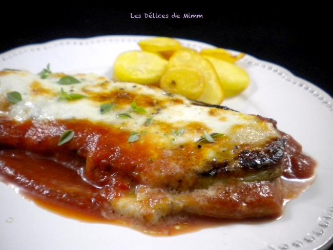 Escalopes de veau alla parmigiana