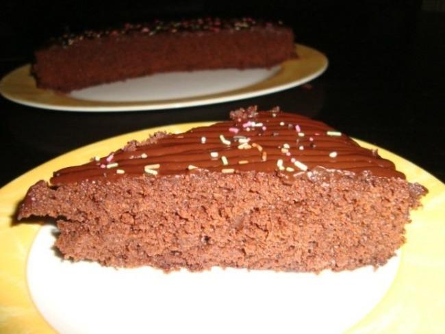 Gâteau au chocolat des écoliers - Recette par ça ne sent ...