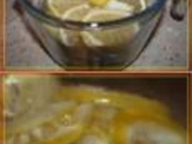 Citrons Confits, Version Salée