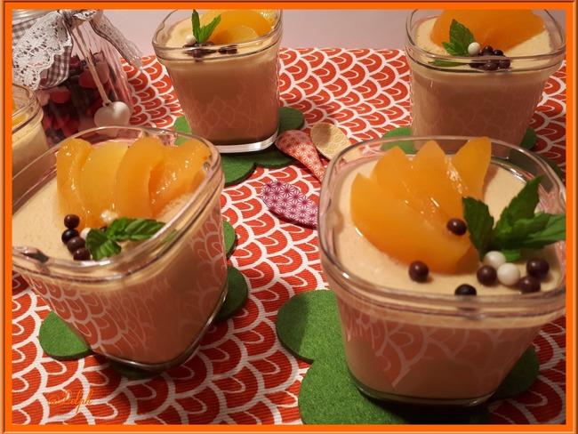 Crèmes au mascarpone et abricot
