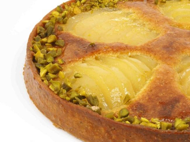 Tarte Bourdaloue Pistache