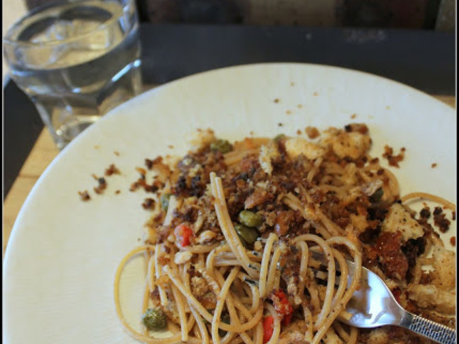 Spaghetti à la sardine