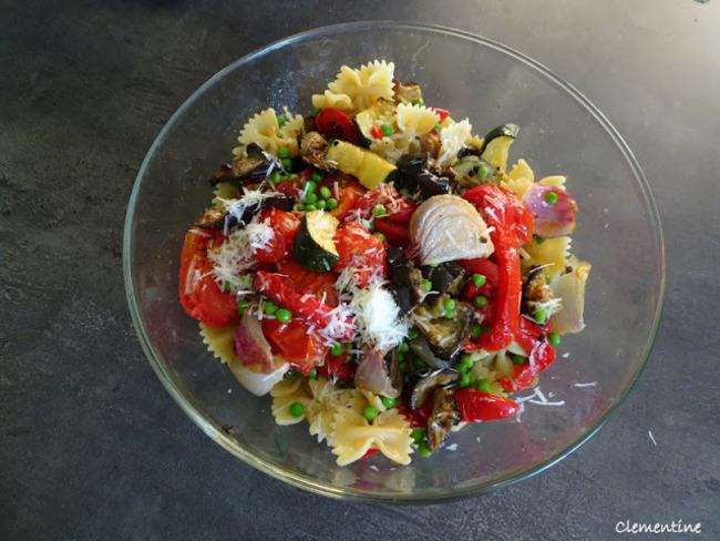 Légumes grillés au four, sauce au basilic et pecorino de Yotam Ottolenghi