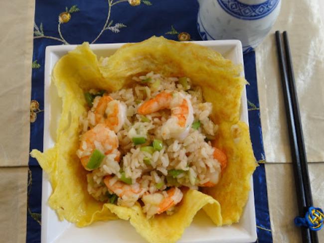 Riz jasmin aux crevettes de Donna Hay