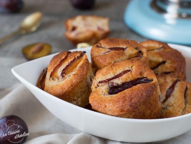 Muffins Aux Quetsches Recette Par La Cuisine D Adeline