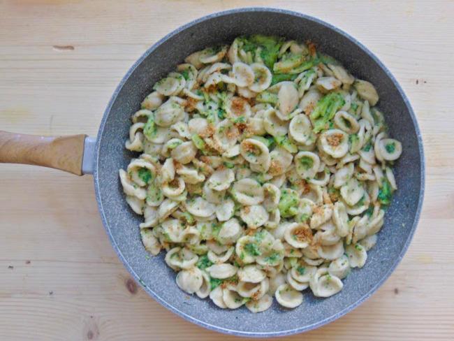 Orecchiette aux brocolis