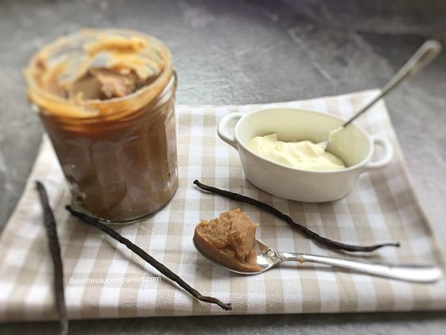 Crème de marron vanillée maison