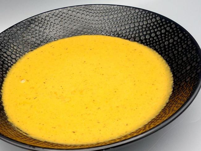 Soupe de carottes rôties au thym