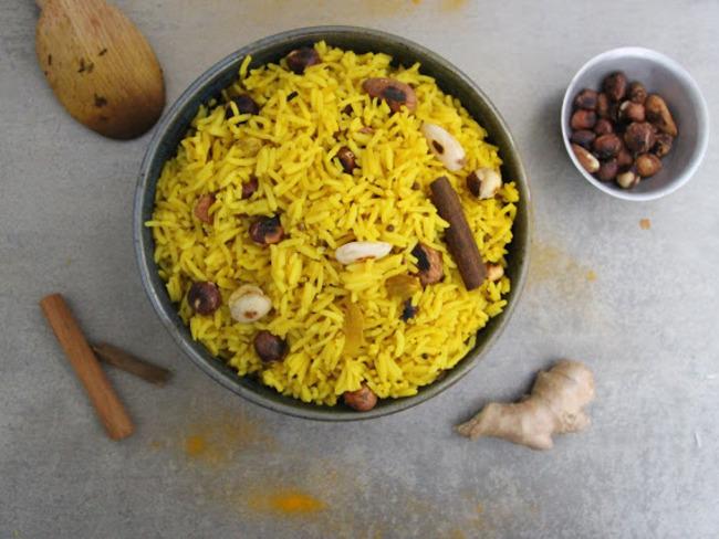 Riz indien aux épices