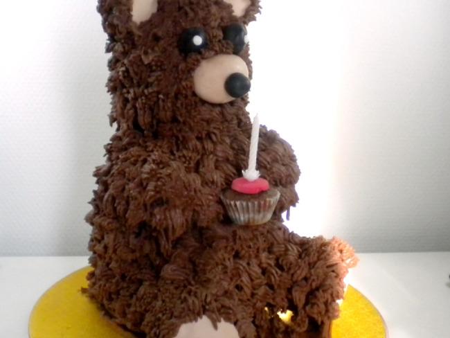Mon gâteau nounours