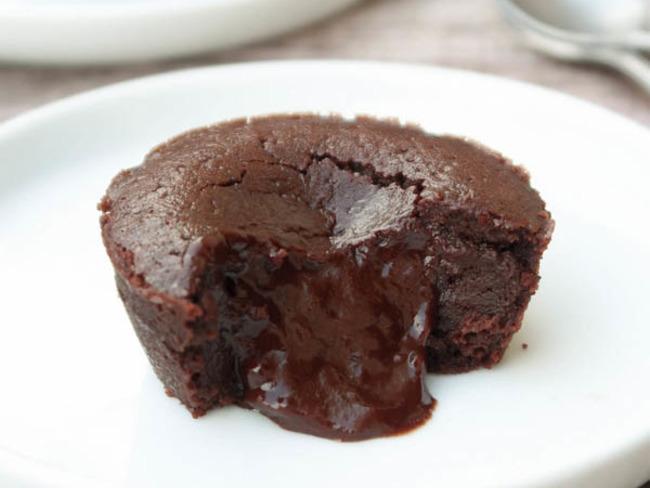 Fondant au chocolat au coeur coulant {vegan} - Perle en sucre