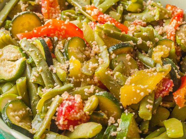Salade de légumes d'été