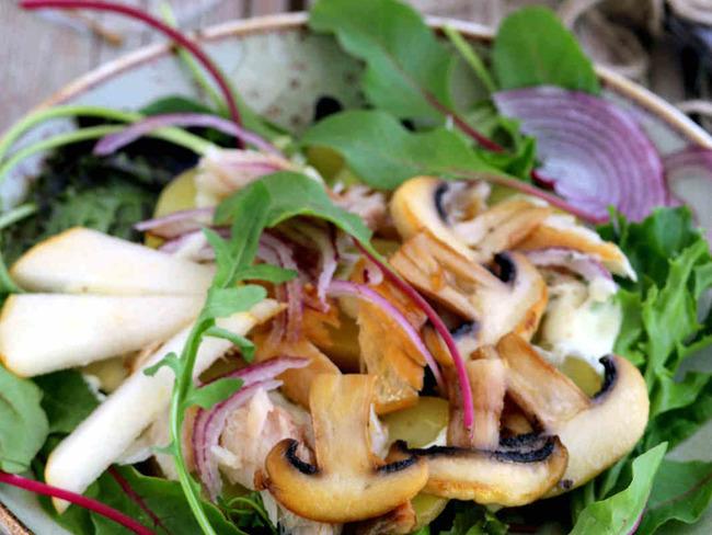 Salade pommes de terre vapeur maquereaux fumés