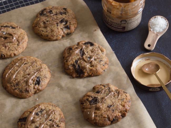 Les cookies au praliné