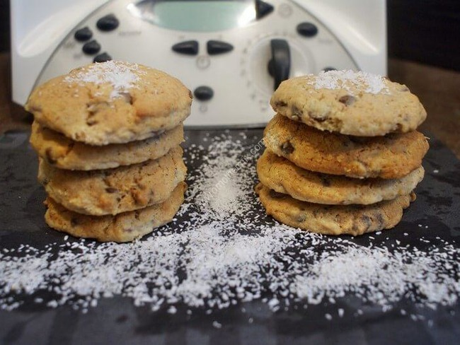 Cookies noix de coco et chocolat au Thermomix