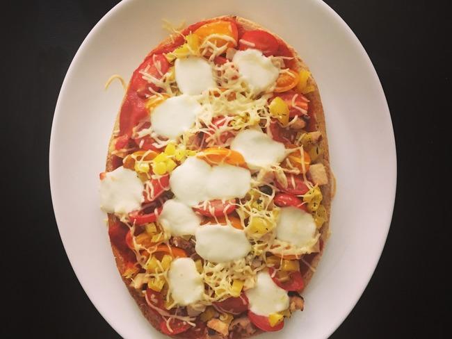 Bruschetta façon pizza
