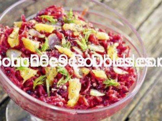 Salade alcaline «Super vitamines»