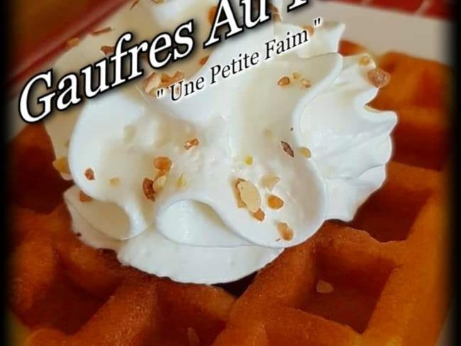 Gaufres au yaourt