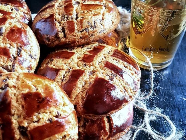 Galettes marocaines au miel et à la cacahuète