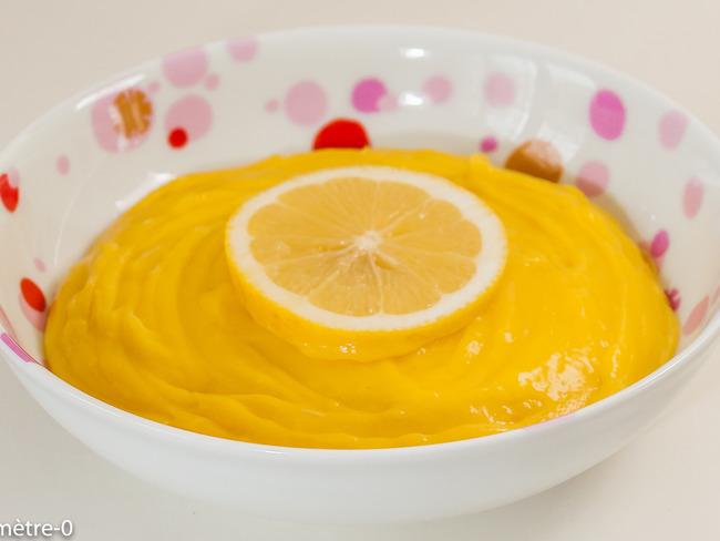 Lemon curd, crème au citron