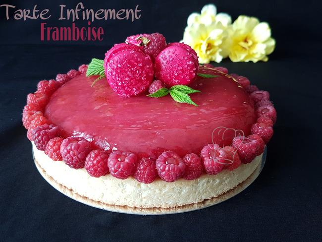 Tarte Infiniment Framboise