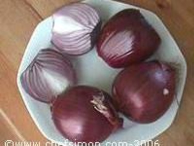 compote d 39 oignons rouges recette de compote d 39 oignons. Black Bedroom Furniture Sets. Home Design Ideas