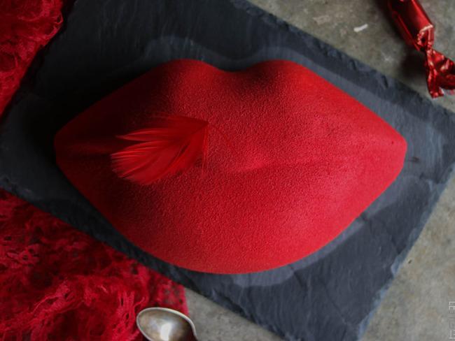 """""""Bisou"""" de François Daubinet pour la Saint-Valentin"""
