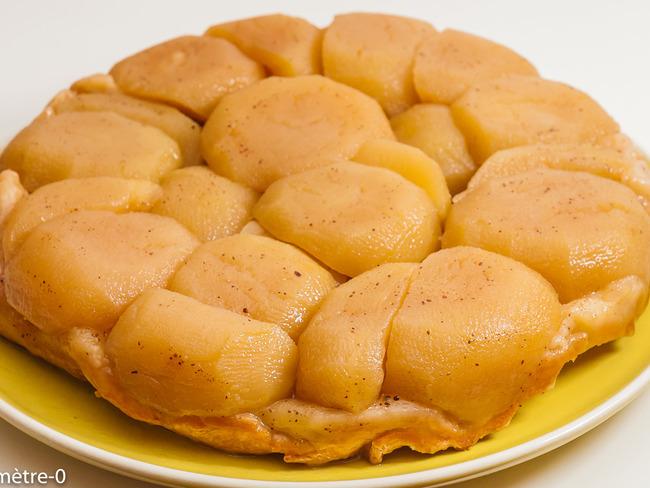 Tarte tatin aux pommes et aux épices