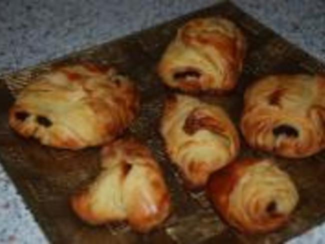 Croissants au Beurre et Pains au Chocolat