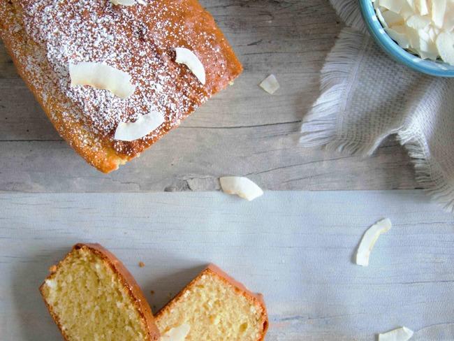 Gâteau au yaourt et noix de coco