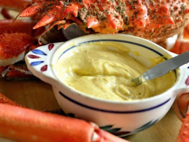 Mayonnaise spéciale crabe