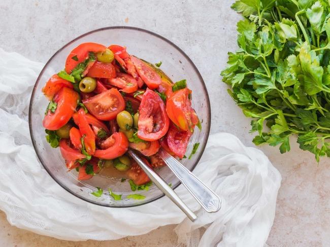 Salade de tomates au pastis