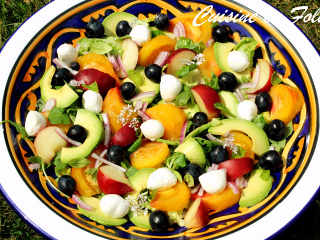 Salade vitaminée