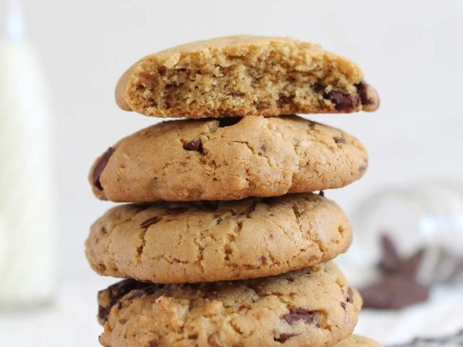 Cookies chocolat, noix et sarrasin