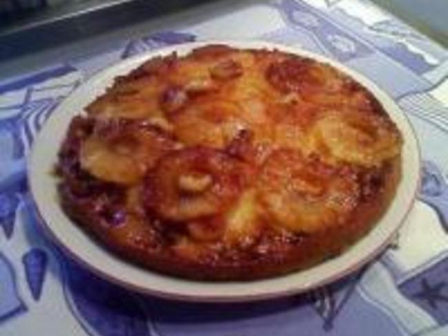 Gâteau à l'Ananas et Liqueur de Coco