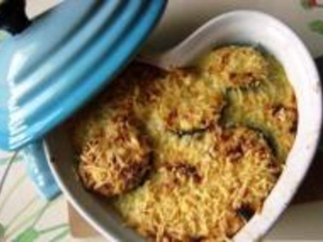 Gratin de Courgettes au Thon et au Curry