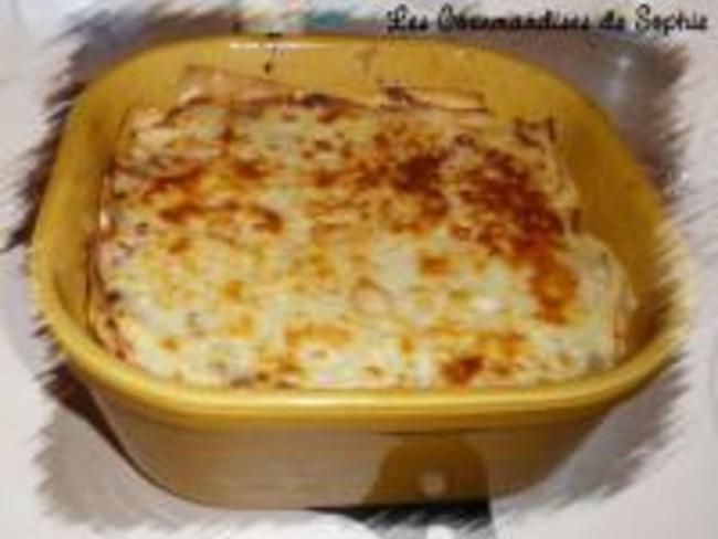 Lasagnes aux Cèpes