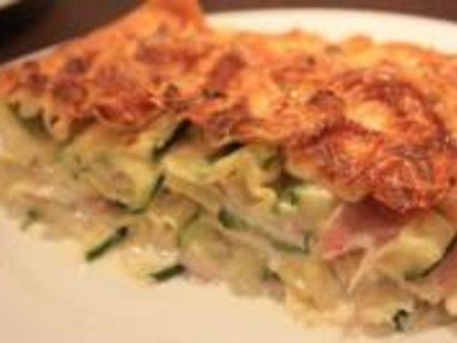 Lasagnes aux Courgettes et Crème de Camembert