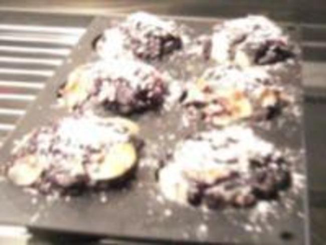 Muffins à la cannelle et aux myrtilles