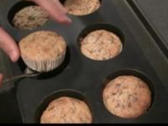 Muffins Céréales et Raisins