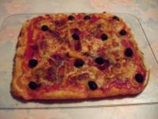 Pizza à la Mexicaine